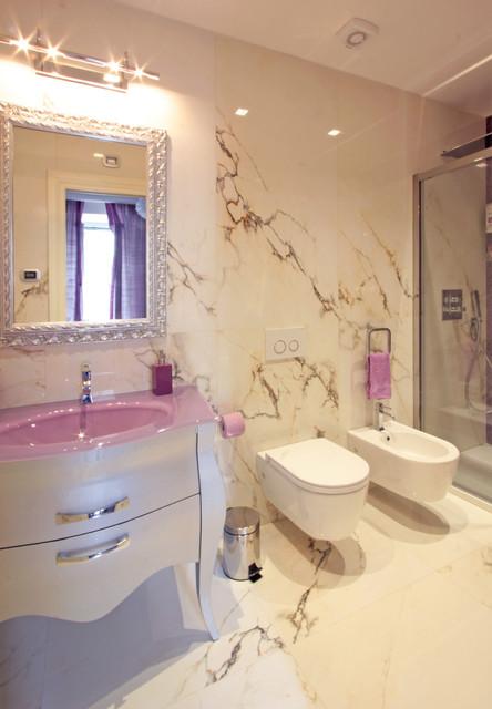 Bagni bathrooms contemporaneo stanza da bagno roma - Stanza da bagno ...