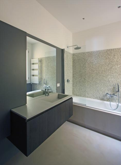 bagni, bathrooms - moderno - stanza da bagno - roma - di franco ... - Architettura Bagni Moderni