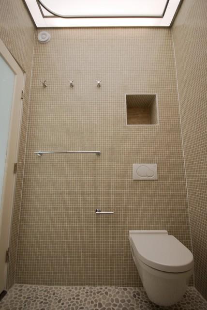 Baldwin Hills European Style Shower Bath Contemporary Bathroom