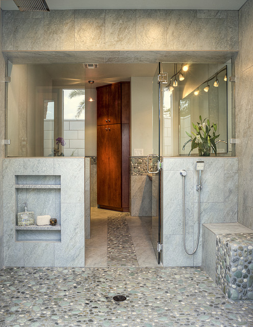 Baldwin Master Bathroom Contemporary Bathroom Phoenix By Allure Designs