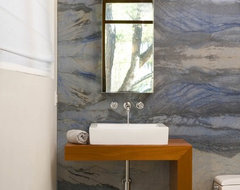 Baldwin residence contemporary-bathroom