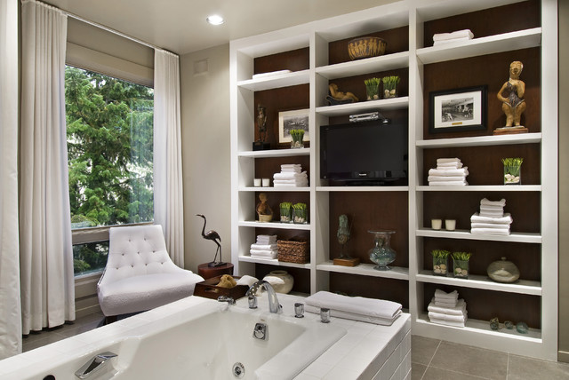 Baldwin Street Bathroom contemporary-bathroom