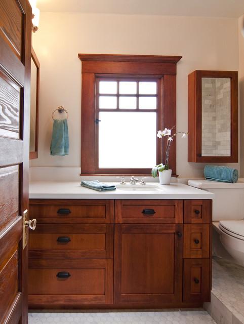 Bali Construction Craftsman Bathroom San Francisco