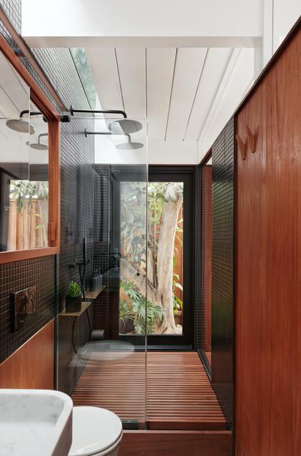 Bali Inspired Master Bath Modern Badezimmer San Francisco Von Blaine Architects
