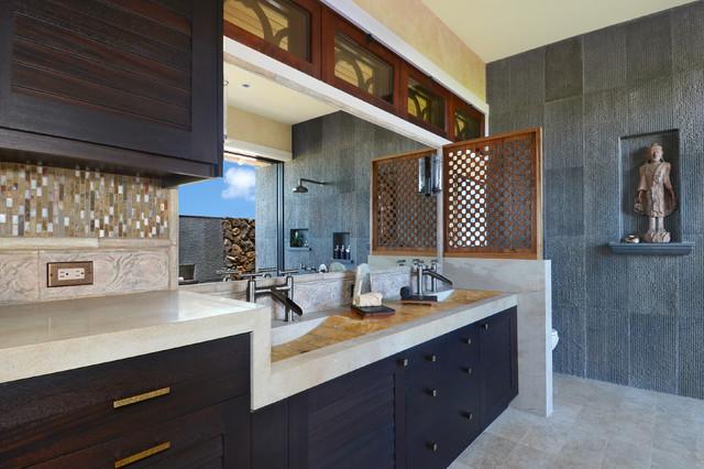 bali pavilions on kauai asiatisch badezimmer hawaii von smith brothers. Black Bedroom Furniture Sets. Home Design Ideas