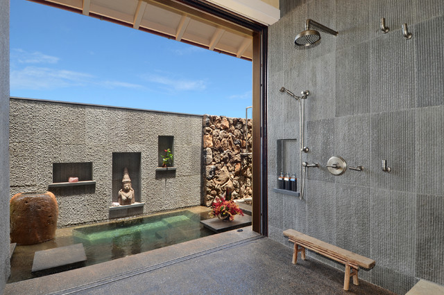 20 Ways To Design An Asian Style Bathroom