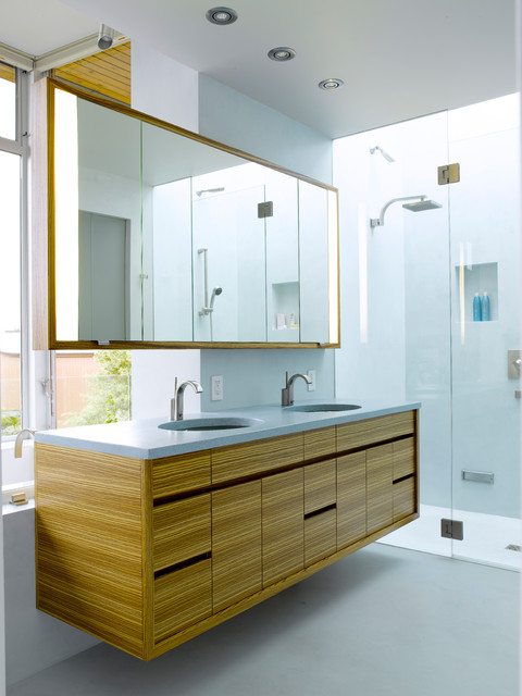 Ballard Design Bathroom Vanity : Ballard cut modern bathroom seattle by prentiss