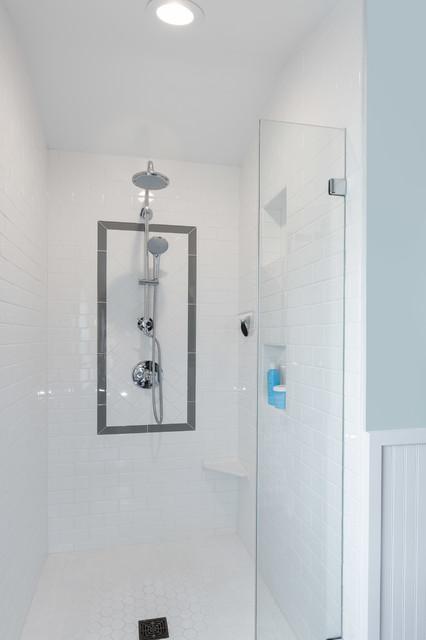 Ballard dormer addition traditional bathroom seattle for Bathroom dormer design