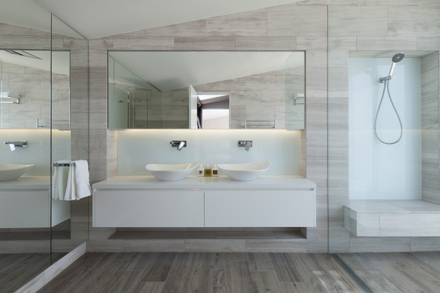 Balmain residence modern bathroom sydney by bayview design group australia - Bathroom decorating ideas australia ...