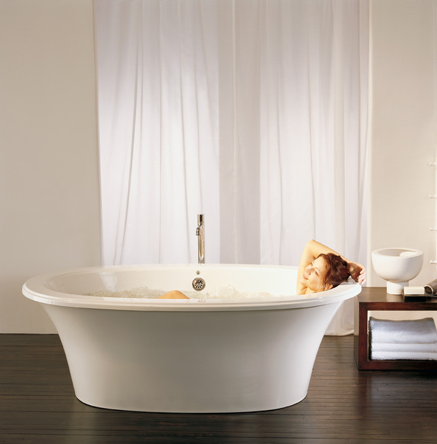 Balneo Sanos 6636 Freestanding Bathtub by BainUltra - Contemporary ...