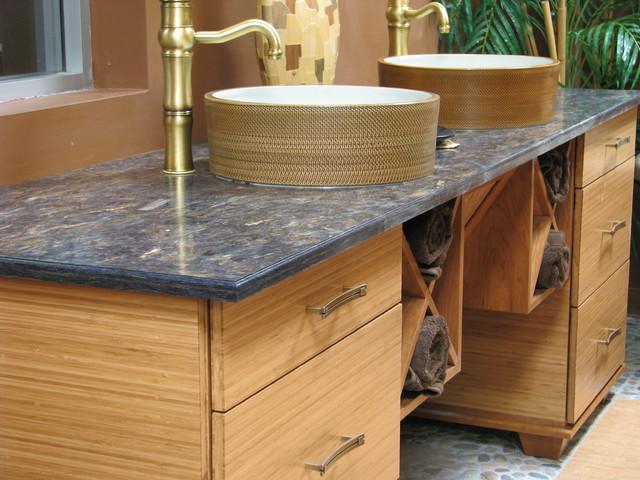 Asian Inspired Vanity Asian Bathroom Denver By Jan Neiges Ckd