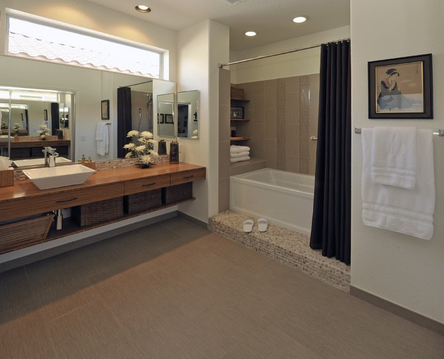 Bamboo Dream - Asian - Bathroom - Phoenix - by Prideaux Design