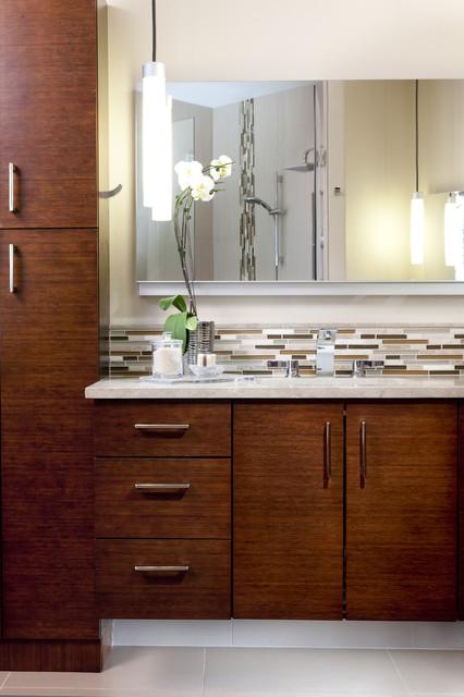 Bamboo Master Suite contemporary-bathroom