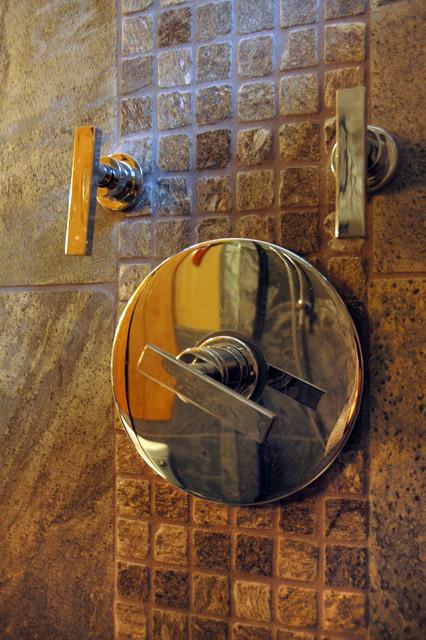 Bamboo + Stone bathroom contemporary-bathroom