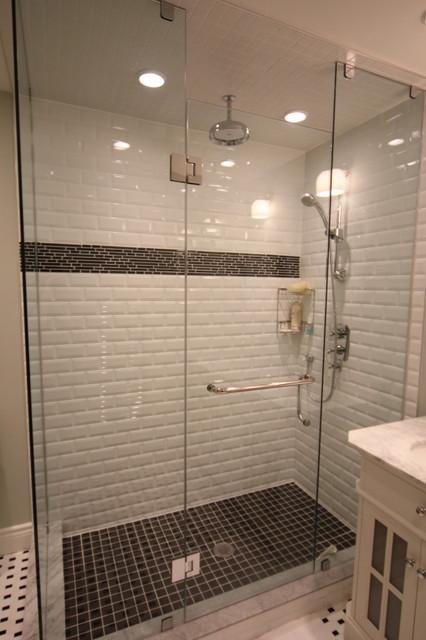 B&W Masters' Bathroom traditional-bathroom