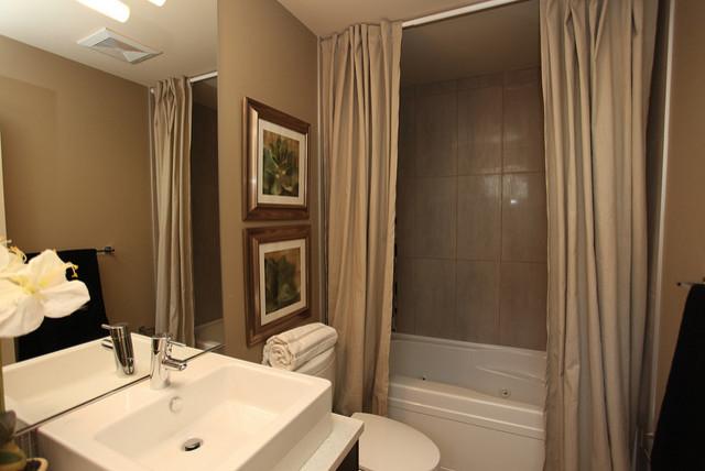 Bankview Triplex contemporary-bathroom