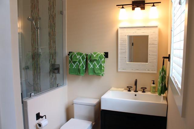 Barber Residence tropical-bathroom