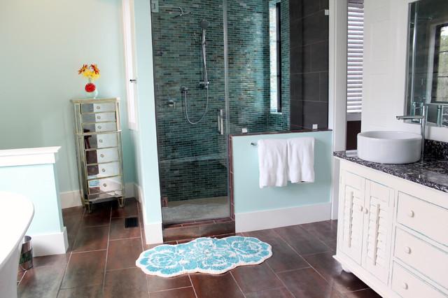 Barber Residence - Kolonialstil - Badezimmer - Charleston - von ...