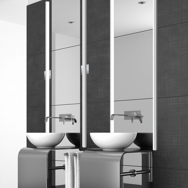 houzz bathroom vanity lighting bardot vanity light contemporary bathroom chicago 18771
