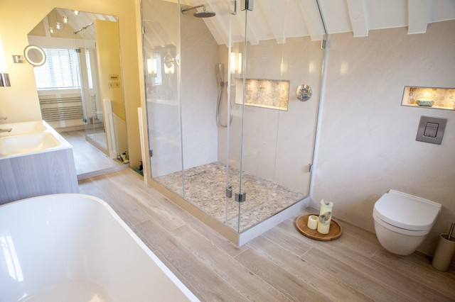 Barn conversion ensuite for Barn conversion bathroom ideas