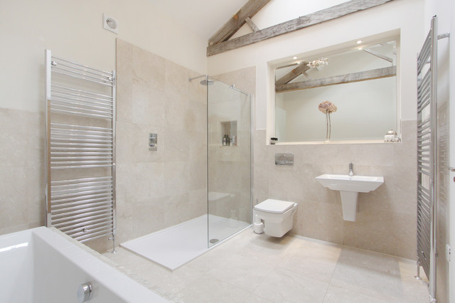 Barn conversion harrogate for Barn conversion bathroom ideas