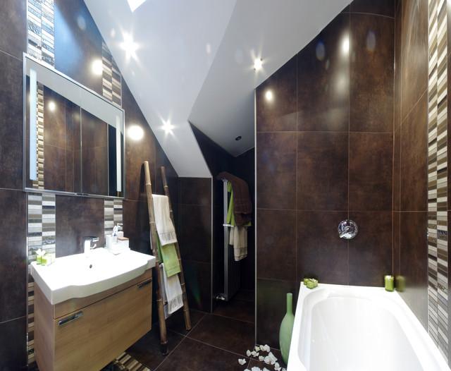 Barn conversion in mottram contemporary bathroom for Barn conversion bathroom ideas