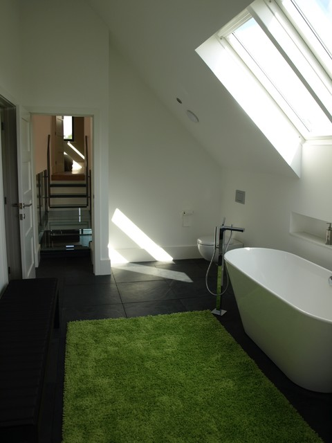 Barn conversion norfolk contemporary bathroom other for Barn conversion bathroom ideas
