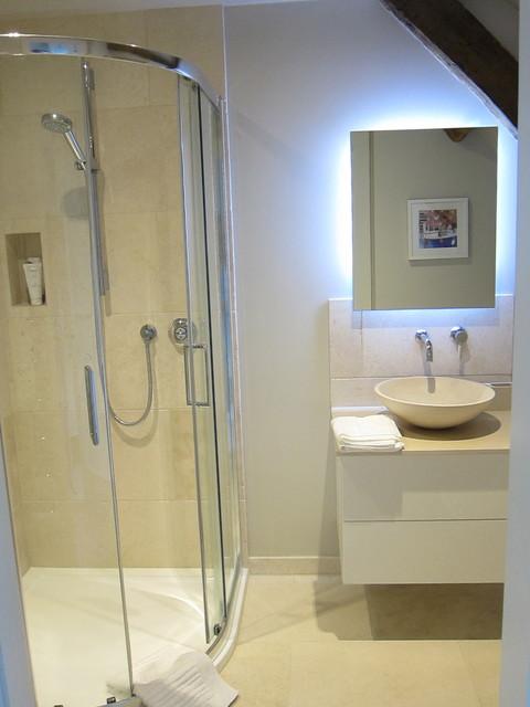 Barn conversion contemporary bathroom channel for Barn conversion bathroom ideas