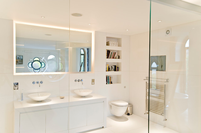 Barnes scandinavian bathroom other metro by west Bathroom design company london