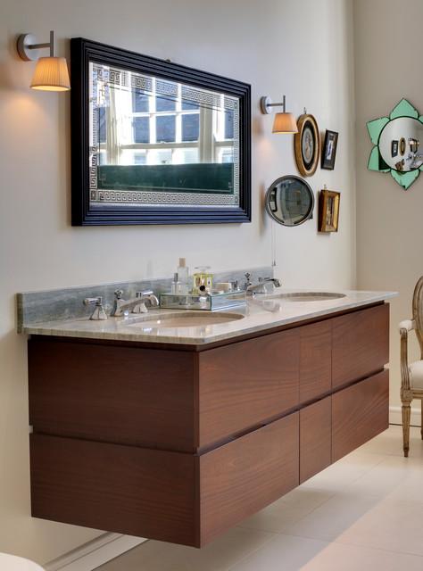 Barnsbury Park, N1 eclectic-bathroom