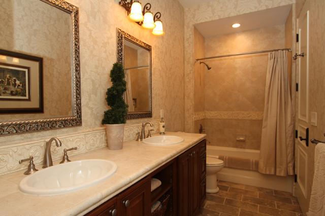 Baron Canyon Chateau mediterranean-bathroom