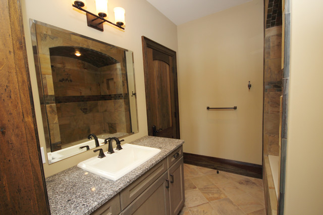 Barrie Terrace Craftsman Bathroom