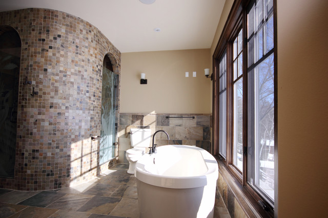 barrie terrace craftsman bathroom toronto by Arts and Crafts Bathroom Design Arts and Crafts Bathroom Design