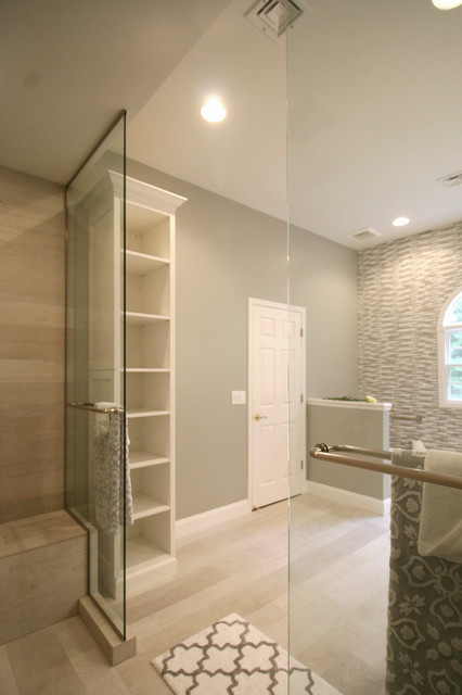barrier free bathroom transitional bathroom by d2 barrier free shower houzz