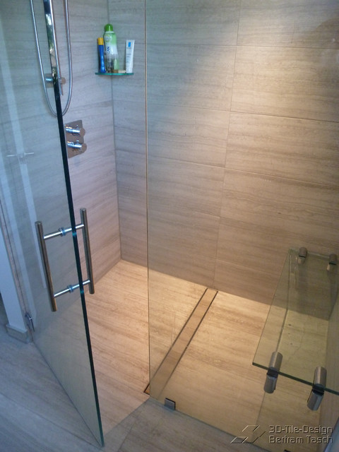 Wonderful Barrier Free / Curbless Rain Shower   Coquittlam Contemporary Bathroom