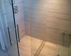Barrier Free / Curbless Rain-Shower - Coquittlam contemporary-bathroom