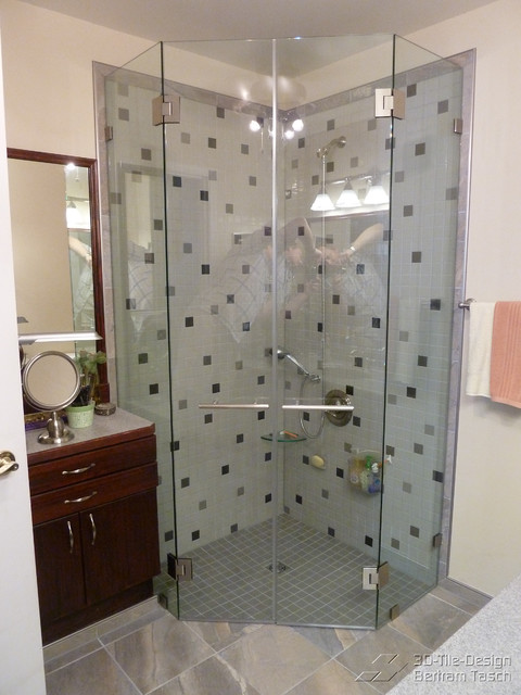 Barrier Free Wheelchair Accessible Disability Shower