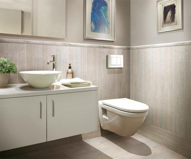 Bathroom Wood Tiles: Barrique Series Blanc Wood Plank Porcelain
