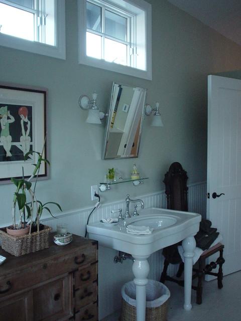 Barron Park Adobe traditional-bathroom