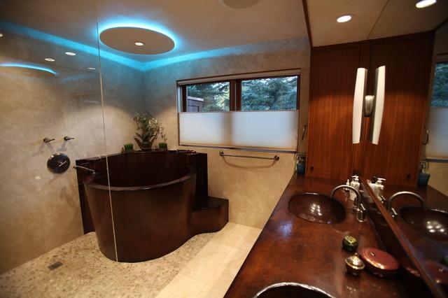 Barshack contemporary-bathroom