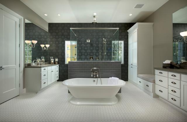 Bartle Residence Klassisch Modern Badezimmer