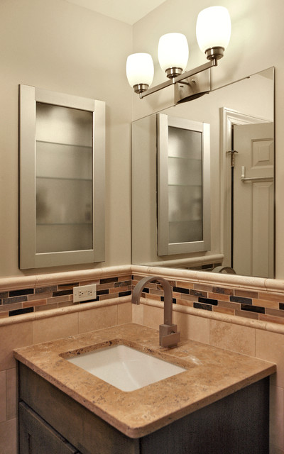 Basement apartment remodel contemporary bathroom dc for Bathroom design kingston