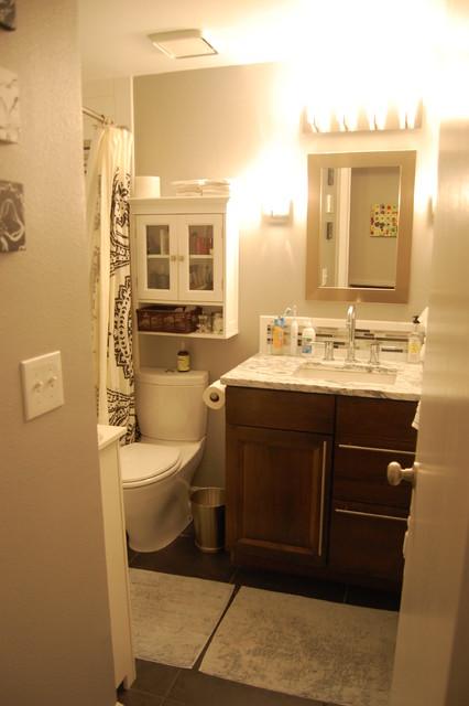 Basement Apartment Contemporary Bathroom Denver By