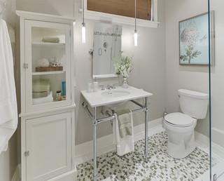 Basement Bath contemporary-bathroom