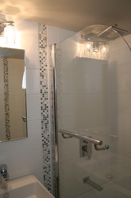 BASEMENT BATHROOM REMODEL ON A BUDGET Modern Montreal By Studio NOO Design