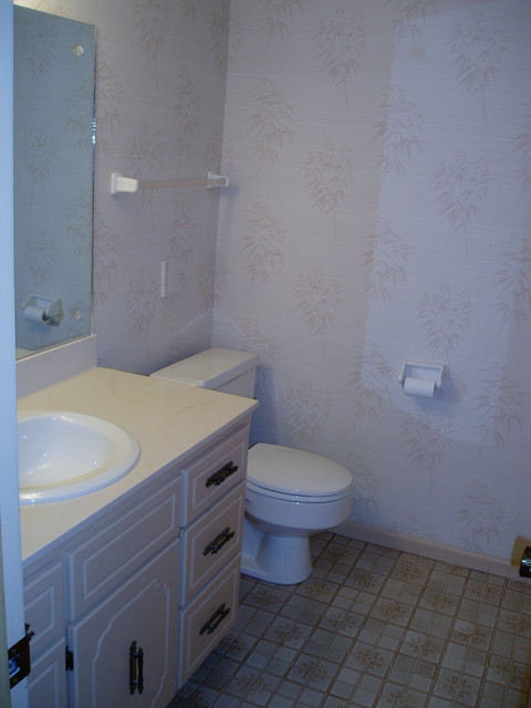 Basement Bathroom Remodel On A Budget Transitional Bathroom Omaha By The Omaha Home