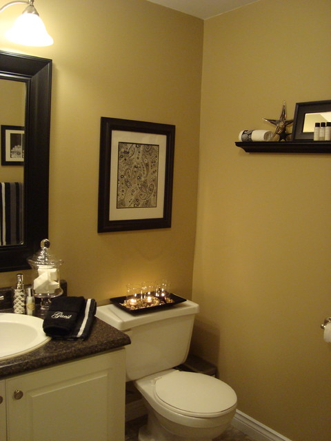 Basement Bathroom contemporary-bathroom