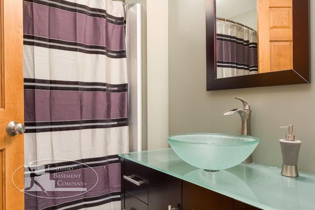 Basement Bathroom Sink contemporary-bathroom