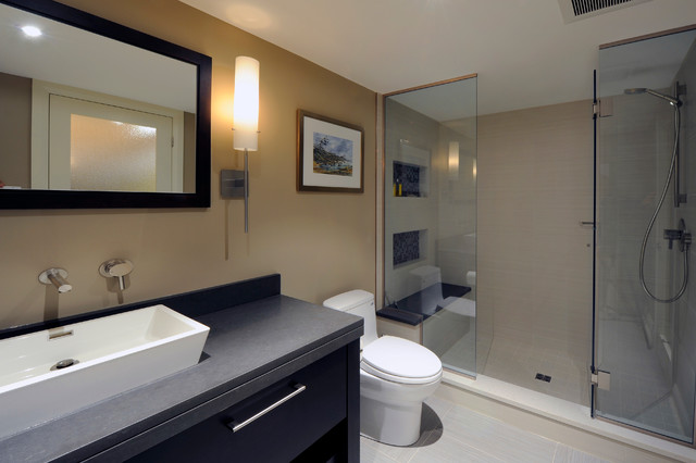 Basement Bathroom - contemporary - bathroom - ottawa - by Southam