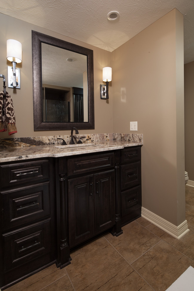 Basement Finish - Traditional - Bathroom - Omaha - by T ...
